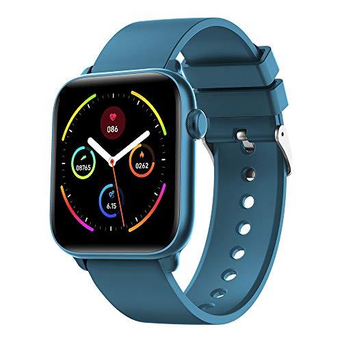 FEICE Smartwatch Fitness Armband mit Pulsuhren Fitness Tracker Wasserdicht IP68 Fitnessuhr Sportuhr Schrittzähler für Android iOS mit Unterschiedliche Zifferblätter für Damen Herren - KW37