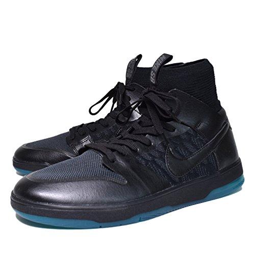 Nike SB Zoom Dunk High Elite Hombres 917567 Sneakers Turnschuhe (UK 8.5 US 9.5 EU 43, Black Atomic Teal 003)