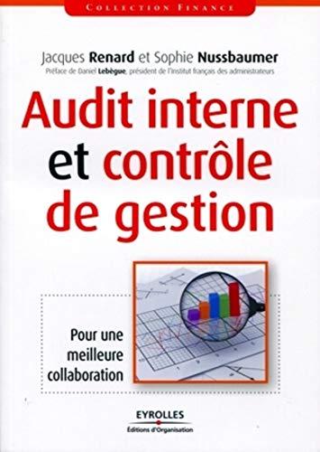 Audit interne et contrôle de gestion