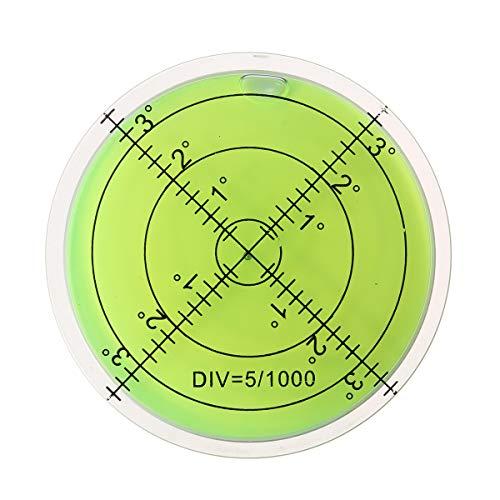 ILS - 10 stuks 60 mm grote geest waterpas grad-merk oppervlak rondmess bulls ogen
