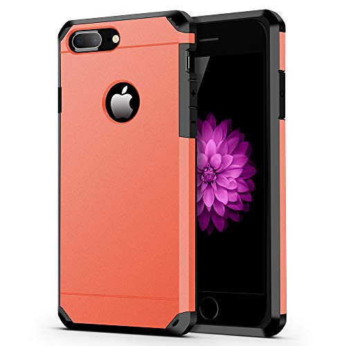 ImpactStrong iPhone 8 Plus Case/iPhone 7 Plus Case Heavy Duty Dual Layer Protection Cover Heavy Duty Case Compatible with iPhone 7 Plus / 8 Plus - Gun Metal