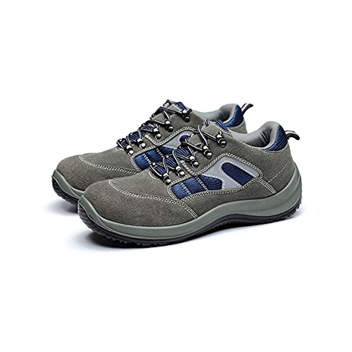 LLKK Männer Schuhe,SicherheitsschuheM,Sportschuhe,Schutzschuhe,Anti-Smashing-,Anti-Piercing-,Ölsäure- und alkalibeständige Schutzschuhe thumbnail
