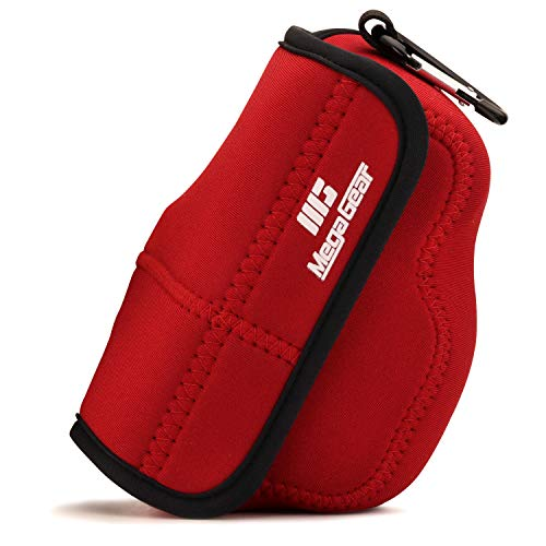 MegaGear MG1821 Ultra Light Neoprene Camera Case Compatible with Nikon Z50 (16-50mm) - Red