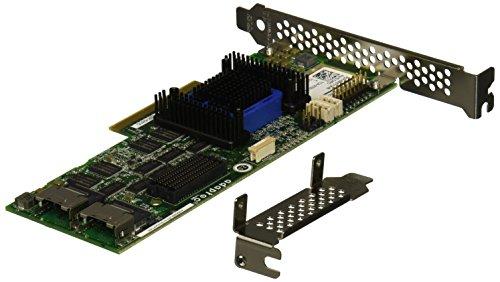 Adaptec RAID 6805 RoC-controller 6 Gb/s SAS 2.0 PCIe 8-poorts interne enkele controller zonder kabel