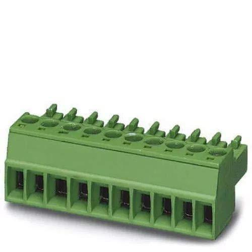 Phoenix Contact Stecker MC 1,5/ 2-ST-3,81 Leiterplatte 2pol. Kabelsteckverbinder für Leiterplattensteckverbinder 4017918045883