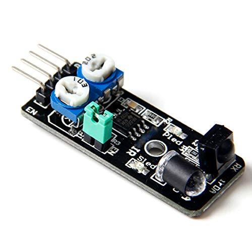 Coche inteligente del sensor de infrarrojos del sensor de evitación de obstáculos para Arduino