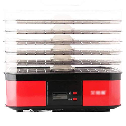 Lowest Prices! Dehydrator Dehydrator, Food Dryer – Food Grade PP, AS, 6-layer Large Capacity, Intelligent Drying, Multi-purpose Machine, Suitable For Home, Kitchen