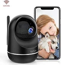 Victure Dual Band 2.4G 5G Telecamera WIFI FHD 1080P Telecamera di Sorveglianza Videocamera IP Interno con Visione Notturna Audio Bidirezionale Notifiche in Tempo Reale del Rilevamento del Movimento