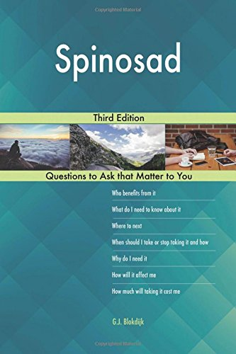Spinosad; Third Edition