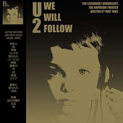 U2 - WE WILL FOLLOW: LIMITED EDITION ON INCA GOLD SWIRL VINYL