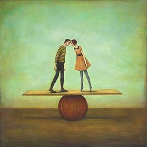 The Poster Corp Duy Huynh – Finding Equilibrium Kunstdruck (30,48 x 30,48 cm)