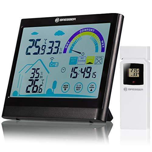 Bresser 7007402 Thermo-/Hygrometer, schwarz