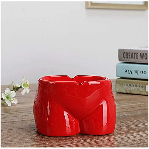 ykw Cenicero de cerámica Simple Moderno Personalidad Creativa Mini Moda Sala de Estar China