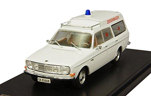 Ixo - Premium-X - Prd319 - Véhicule Miniature - Modèle À L'échelle - Volvo 145 Express Ambulance - 1969 - Echelle 1/43