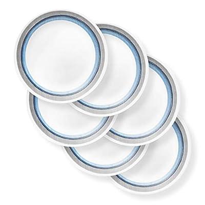 Corelle Chip Resistant Dinnerware Set, 6-Piece, Elemental Dawn
