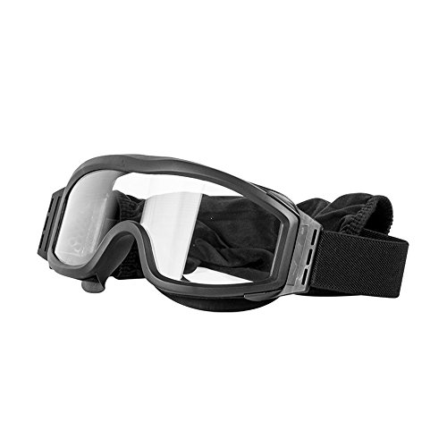 Valken Airsoft Tango Goggles, with 3 Lenses, Black Frame