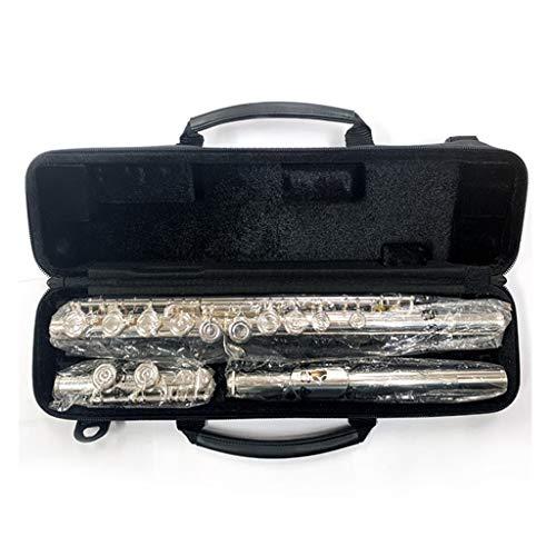 XinQing Flautas traveseras Flauta, estándar Tipo C sintonizar Principiante Mayor Occidental Flauta Instrumento Musical for Adultos y niños