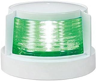 KOITO [ 小糸製作所 ] LED小型船舶用船灯 第二種舷灯(緑)(スターボードライト) ボディ色:ホワイト 発光色:緑 MLR-4AB2