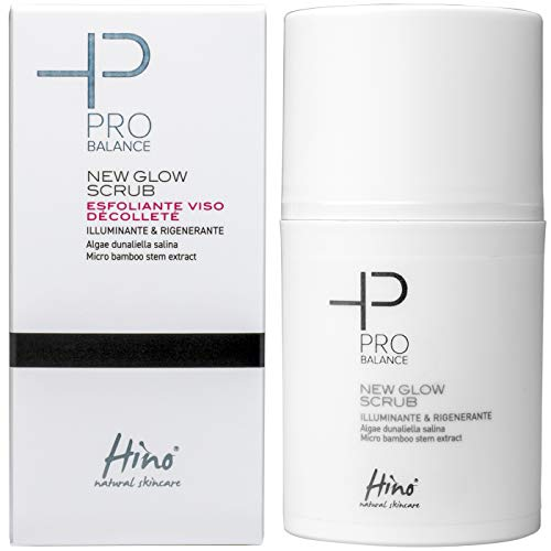 Hino Pro Balance New Glow Scrub Esfoliante Viso Décolleté 50ml