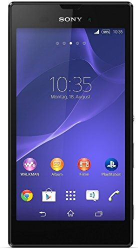Sony Xperia Style Smartphone (13,5 cm (5,3 Zoll), 1,4GHz, 8 Megapixel Kamera, Touchscreen, micro-USB 2.0, Android 4.4) schwarz