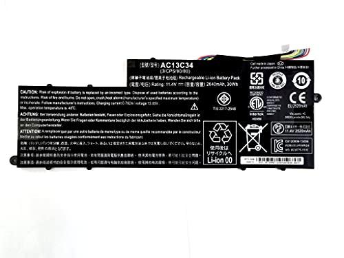 7xinbox AC13C34 KT.00303.005 3ICP5/60/80 Repuesto Batería para Acer Aspire V5-122P E3-111 E3-112...