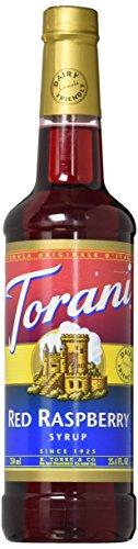 Torani Red Raspberry Syrup, Dairy Friendly 750mL