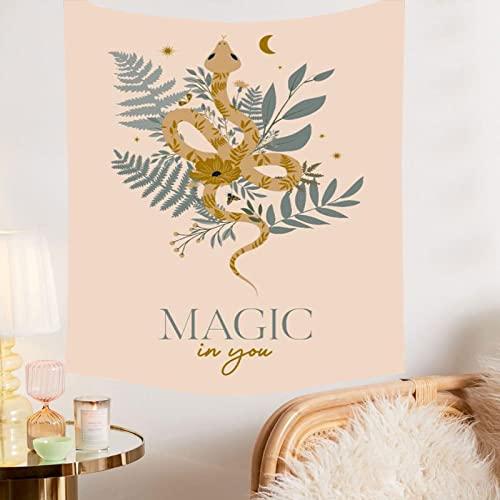 Hermosa planta Animal tapiz mariposa decoración del hogar sol Luna tapiz manta tela colgante A3 180x230cm