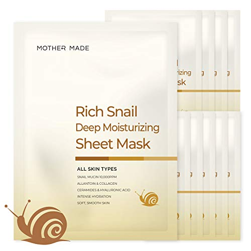 Korean snail sheet mask
