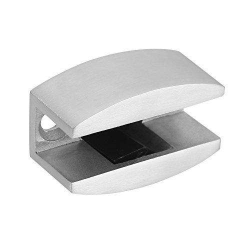 Bumper de tope para puerta de piso de repuesto de bajo de guía de acero inoxidable 304 para puertas de cristal Correderas sin marco