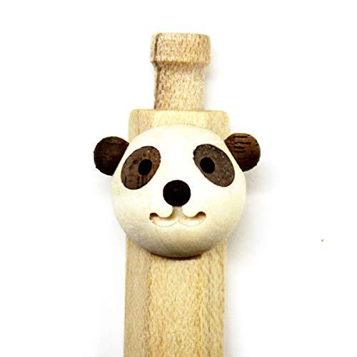動物ペン ボールペン/シャープペンシル ホワイト (パンダ カバ ライオン フクロウ シロフクロウ) くらふと鈴来(RINKUL) trk-03 (シャープペンシル パンダ)