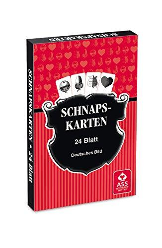 ASS Altenburger 22570044 - Schnapskarten, doppeldeutsches Bild
