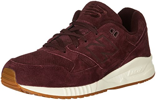 New Balance 530 Lux Suede Casual Men's Shoes Size 9 Wine Red