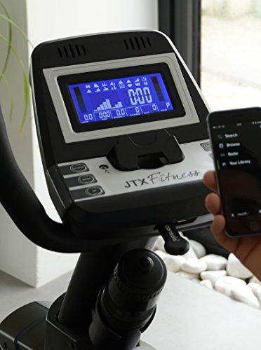JTX Cyclo-5R Recumbent Exercise Bike. FREE Polar Heart Rate Chest Strap.