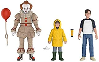 FUNKO Action Figures: IT - Pennywise, George, Bill 3PK