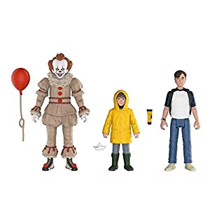 Funko 30006 Figura de acción: It 2017, Paquete de 3: Pennywise Bill, Georgie It Collectible, Multicolor