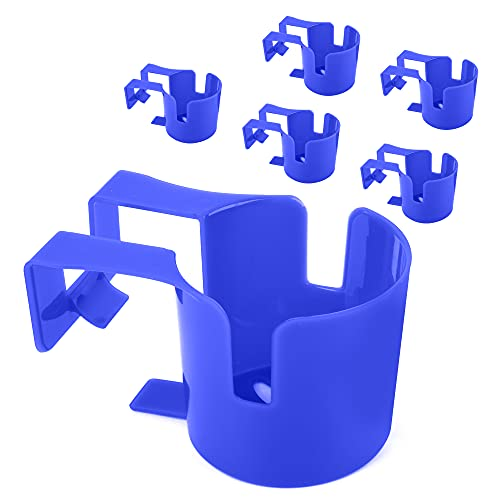 [Blue 6 Pack] Poolside Cup Holder for Refreshing...
