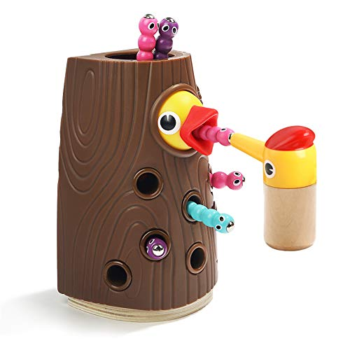 TOP BRIGHT Fine Motor Skills, Magnetic Toddler Toy Games for 2 3 Year Olds Girls...