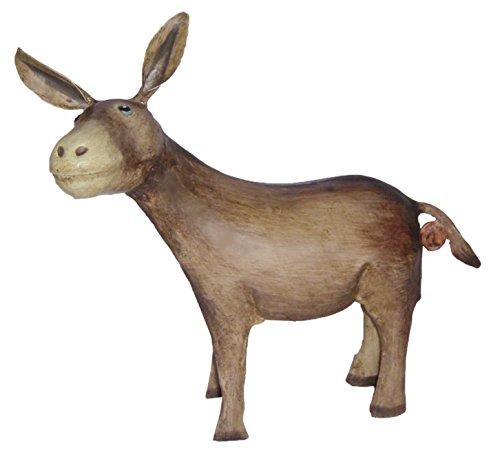 Spardose Sparbüchse Esel Dukaten-Esel Metall bemalt