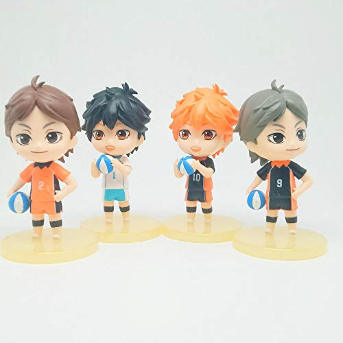 Haikyuu !! Modelo de muñeca, Figura de Juguete de Anime, Juguetes de animación, decoración de Personajes de Anime, muñeca Hinata Shoyo Oikawa Tooru sugawara koushi, Modelo de muñeca