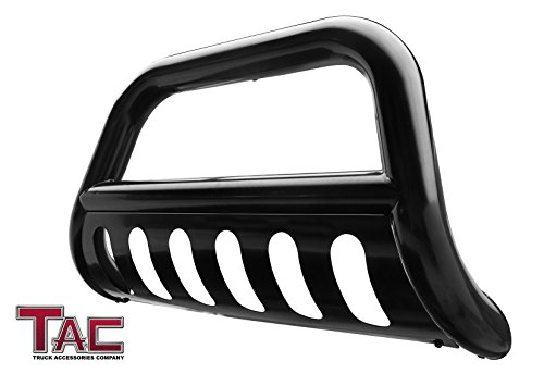 """TAC Bull Bar Fit 1999-2006 Toyota Tundra / 2001-2007 Toyota Sequoia Pickup Truck SUV 3"""" Black Front Brush Bumper Guard Grille Guard Push Guard Off Road Automotive Exterior Accessories"""