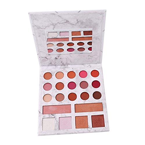Elistelle 21 Farben Makeup Palette Bunt Profi Augenpalette und Matt Glitzer Lidschatten Highlighter...