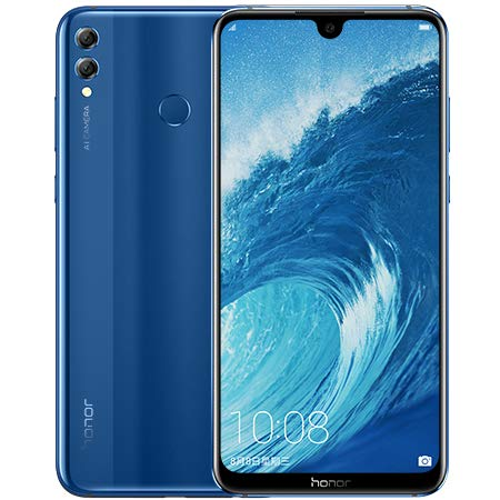 Huawei Honor 8X MAX 128 GB – Dual SIM [Android 8.1, 7.12' IPS LCD Dual 16.0MP+2.0MP 5000 mAh] (Azul)