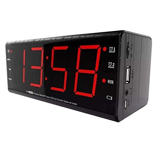 Tarjeta de Sistema de Altavoz del Mezclador DJ Car Audio Surround Así Mic for el S8 X JSY Alarma TF Tarjeta de Radio FM Bluetooth Wireless Speaker con fengong