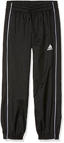 adidas Kinder CORE18 RN PNT Y Sport Trousers, Black/White, 13-14Y