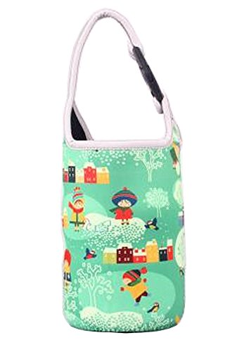 Bouteille Lovely Baby Sac alimentaire Jar Sac fourre-tout vert