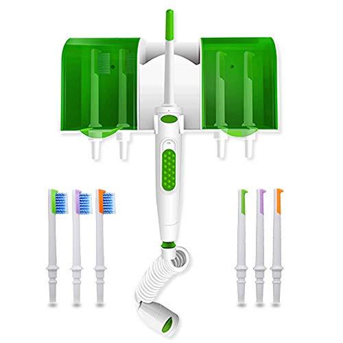 Agua Flosser Grifo Irrigador Oral Dental Jet Dientes Limpieza Set,Hogar