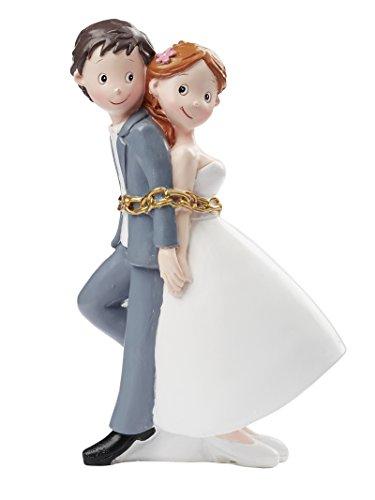 Hochzeitspaar in Ketten ca. 15 cm