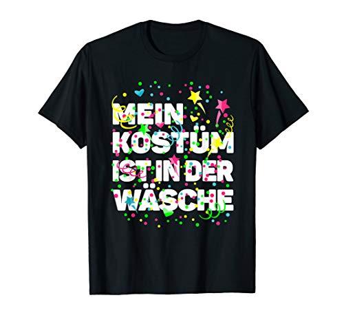 Karneval Kostüm Wäsche Fasching Shirt lustiger Kostümersatz T-Shirt