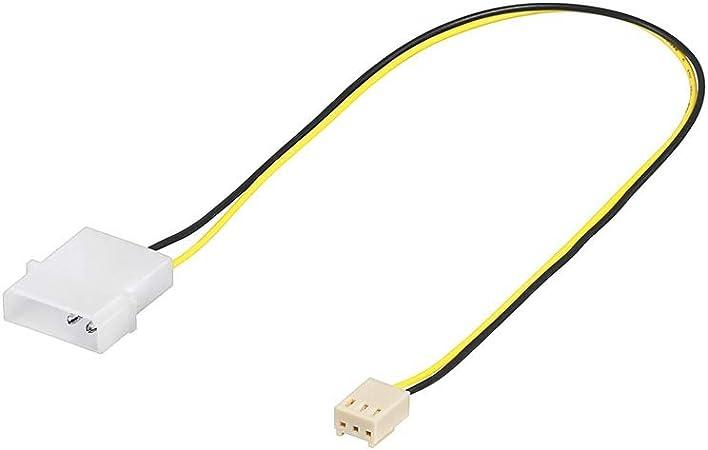 Wentronic 93627 Lüfter Adapterkabel Weiß Mehrfarbig Computer Zubehör