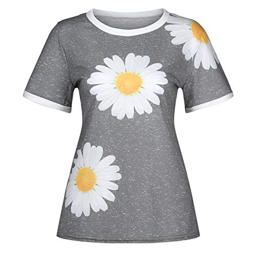 Great Features Of Rmeioel Summer Fashion Tops for Women Plus Size Short Sleeve Loose Casual T-Shirt ...